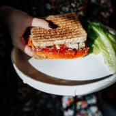 Сендвіч з лососем (200г)