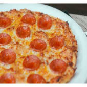 Pizza pepperoni (sin gluten)