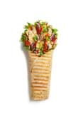 Wrap Green Vege Hummus