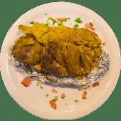 Quarter Mandi Goat with Rice