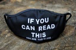 პირბადე-if you can read this, you are too close