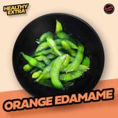 Orange edamame