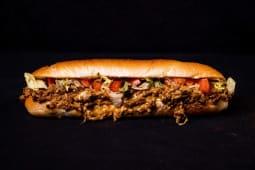 NYC Chopped Cheese / burger u kifli