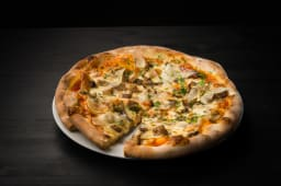 Pizza porcini