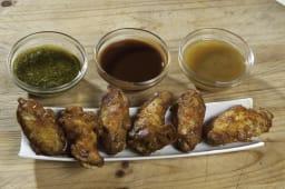 Alitas de pollo picante