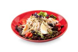 Салат с копченой индейкой