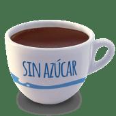 Vaso de chocolate 0% azúcar