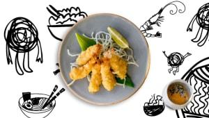 Shrimp tempura (90г)
