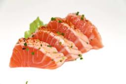 Sashimi Salmão Braseado