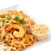 Pad thai con ternera