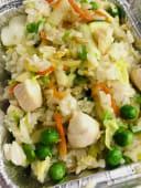 78.Riso con pollo e verdure miste