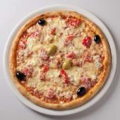 Pizza Prosciutto Quattro Formaggi