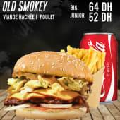 Burger old smokey
