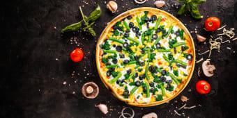Піца Вегетаріанська (550г)