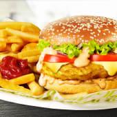 Platou Cheeseburger de Pui
