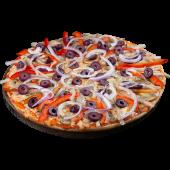 Pizza presto vegetariana (familiar)