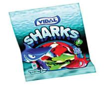 Gomas Sharks Vidal 100g
