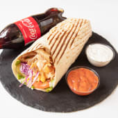 Kebab Regular Wrap + Coca Cola