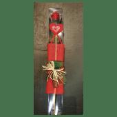 Rosa preservada 55cm