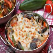 Eggplant Oven Baked Pasta باستا فرن بالباذنجان