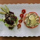 Salade De Crevettes À L'avocat