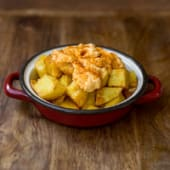 Patatas picantes de barceloneta