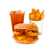 Meniu Pui Onion Burger