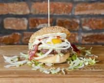 Burger Bekon Jajo
