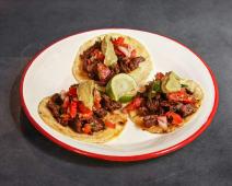 Tacos de carne (3 uds.)