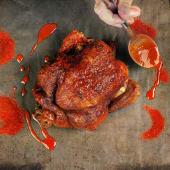 1 pollo Pekín + patatas rustidas