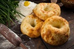 Узбецький хліб, приготований у тандирі (120г)