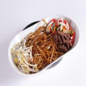Chow fun de ternera  (picante suave)