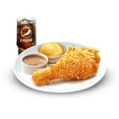 1PZ Chickenjoy -  Contorno e bibita 0.4 L
