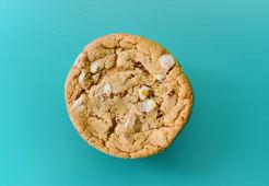 Cookie de arándanos y chocolate blanco