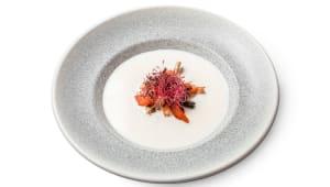 Сирний суп з куркою і броколі (250г)