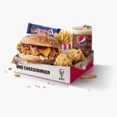 Megabox BBQ Cheeseburger