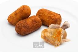 Croquetas de pollo fritas (6 uds.)