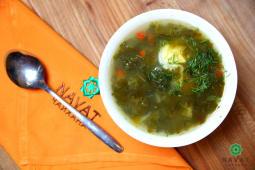 Суп Щи зеленые