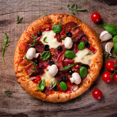 Pizza Milano mediano