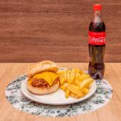 Hamburguesa Pulled Porc (Completo)
