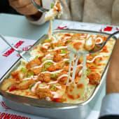 Oven Pasta Crispy Chicken Tray صينية باستا فرن دجاج كريسبي