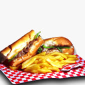 """Philly cheese steak (12"""")"""