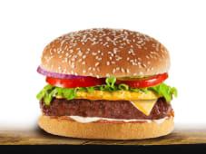 Гавайский бургер (220г)