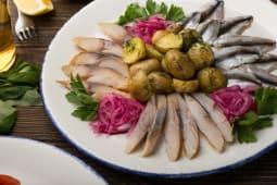 Холодна рибна таріль (150/100/30г)
