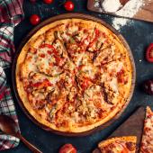 Pizza Pompeya Bbq Crispy mediana