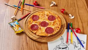 Піца сонечко та Барні (200г)
