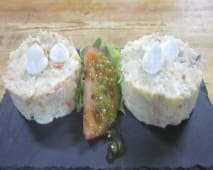 Ensaladilla de melva y surimi (ración)