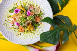Салат з креветками (250г)