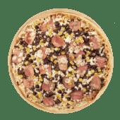 Pizza barbecue Carlos maíz (mediana)