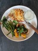 Куряче філе з сезонними овочами (300г)